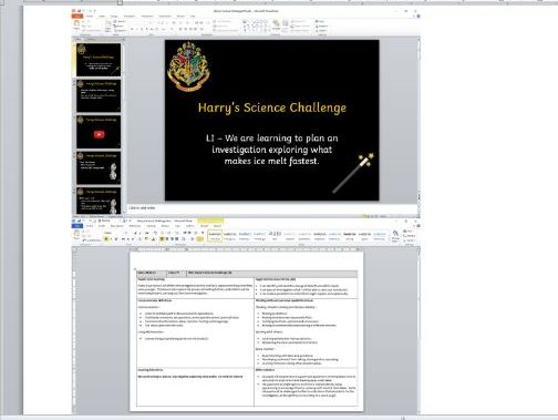 Changing States, Harry Potter Theme - Harry's Science Challenge (KS2)