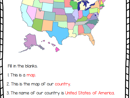 Geography for Kindergarten: