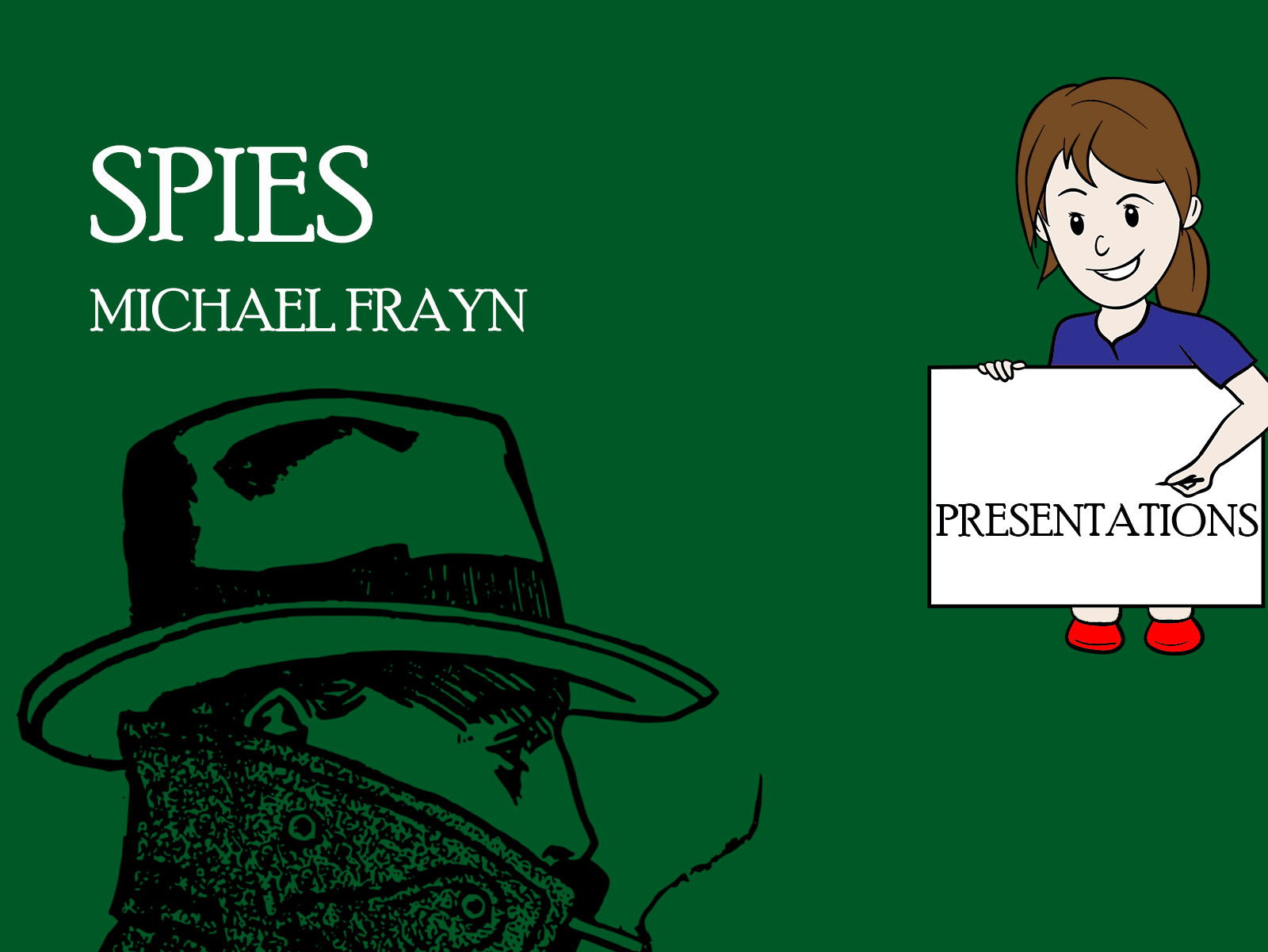 spies michael frayn characters