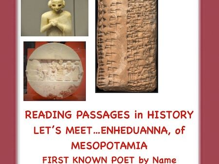 Women's History: Enheduanna of Mesopotamia(First Known Poet in History)