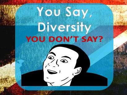 PSHE: British Values: Diversity: Living in a diverse society You Say Game,