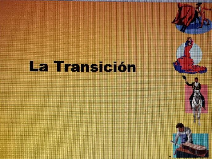 La Transicion translation sentences and answers