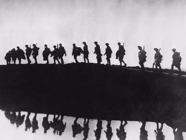 Year 9 WW1 Poetry - The Soldier