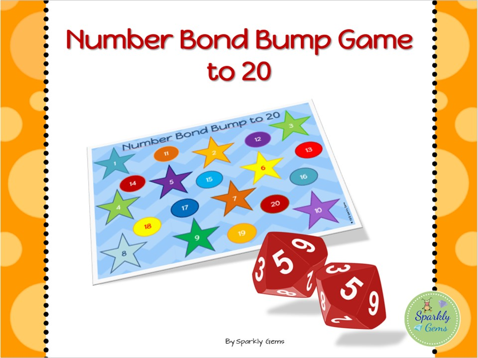 Number Bond Bump to 20 - Game