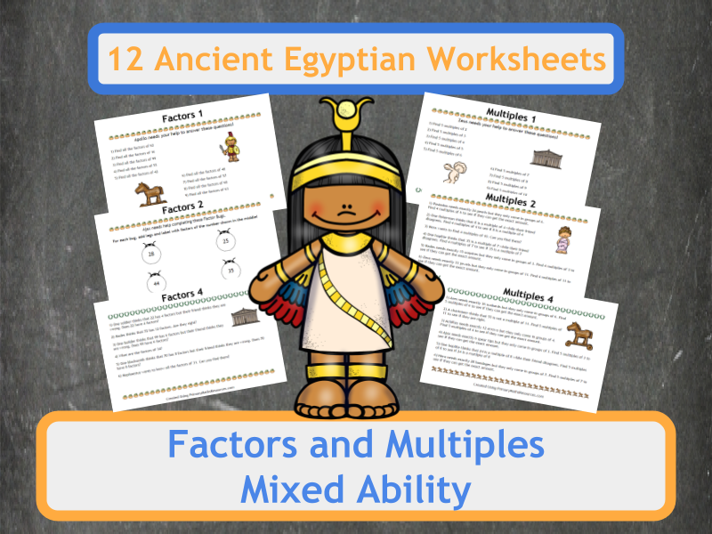 Factors and multiples worksheets ks2