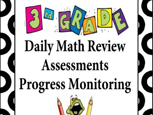 3rd Grade Math Test Prep | Assessments | Progress Monitoring