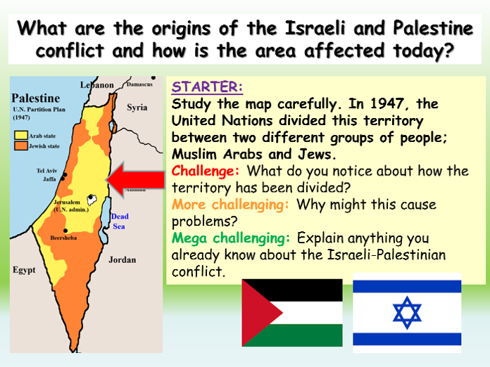 Palestine + Israel Conflict