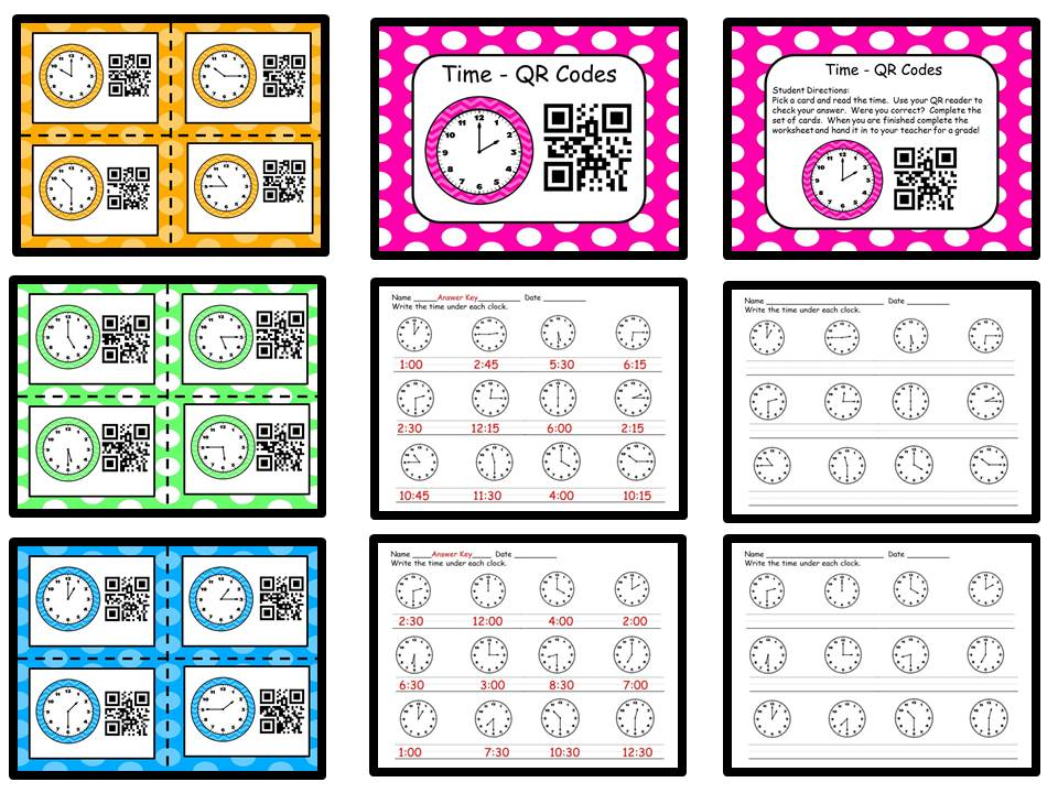 Time with QR Codes