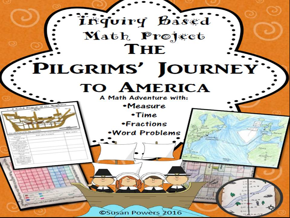 A Thanksgiving Inquiry Based Math Project Measure, Fractions & Data