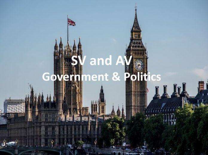 SV and AV