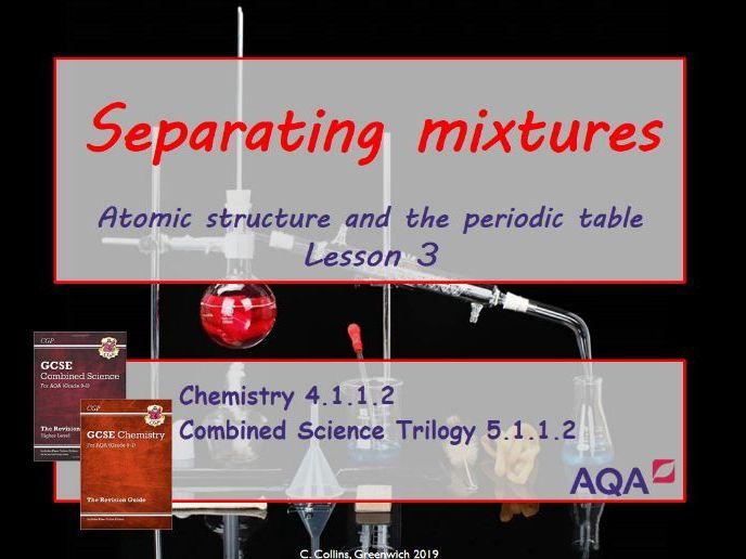 Separating Mixtures #3 (AQA - Chemistry paper 1)