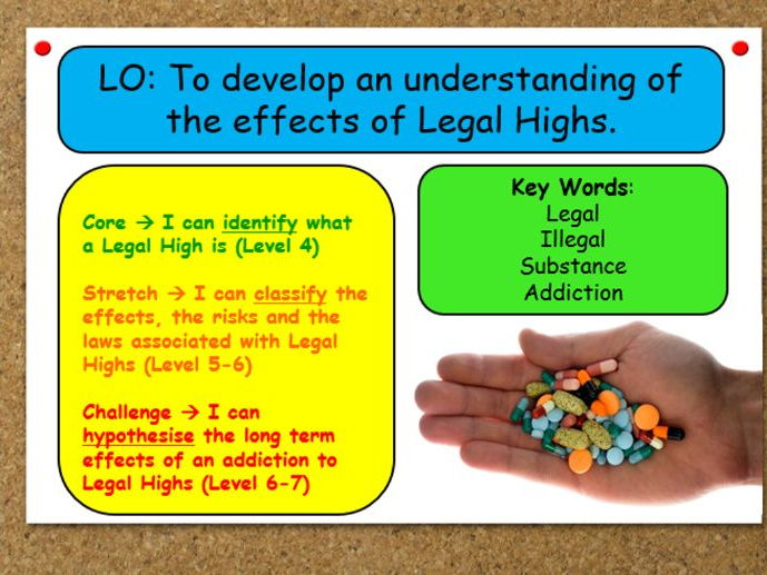 Outstanding PSHE Lesson on Legal Highs