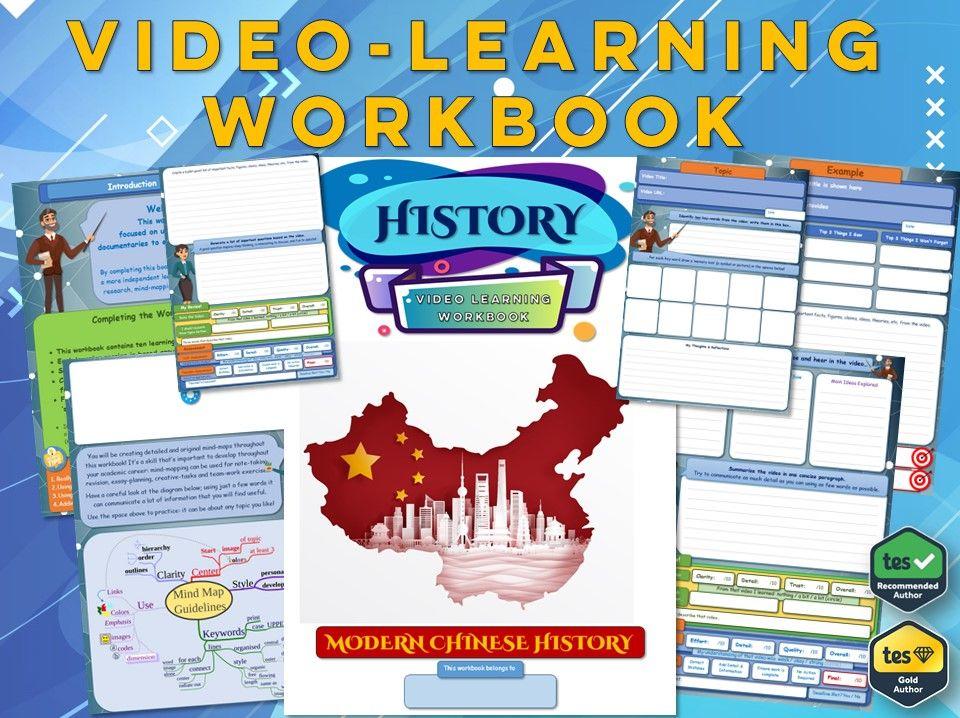 Modern Chinese History - KS3 History - Workbook [Video-Learning Workbook] Revolution - Mao