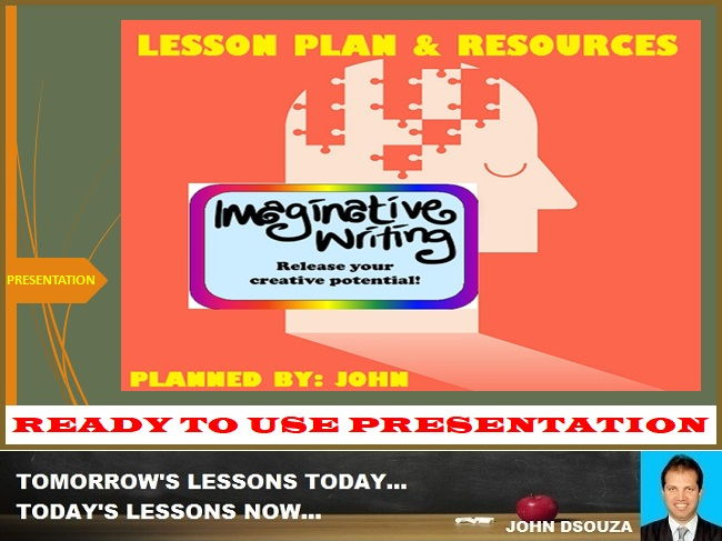 IMAGINATIVE WRITING: READY TO USE PRESENTATION