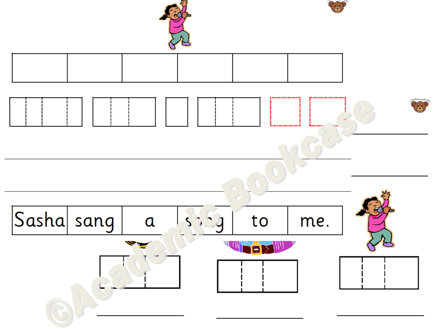 Phase 3 phonics sheets with phoneme boxes by AcademicBookcase ...