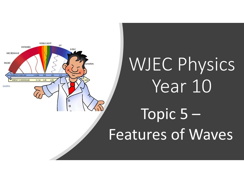 WJEC 1.5 (Triple) / 3.5 (Double) Features of Waves whole topic ppt