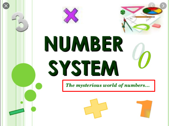 Numbers and Systems Complete Board Work and Video