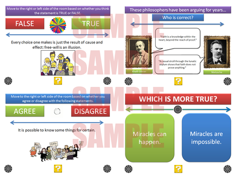 The Philosophy & Ethics Debate Pack [P4C] [Philosophy for Children] [Over 400 Debates!]