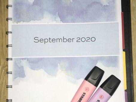 NEW 2020/21 Teacher Planner - Autumn term