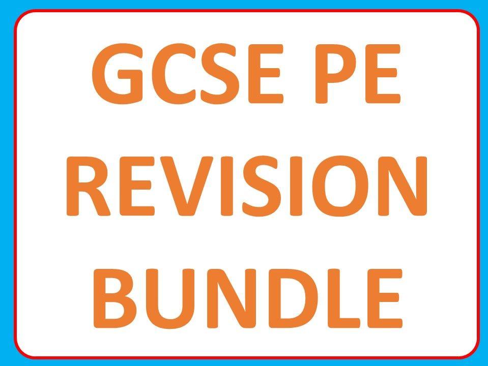 GCSE PE Revision Bundle