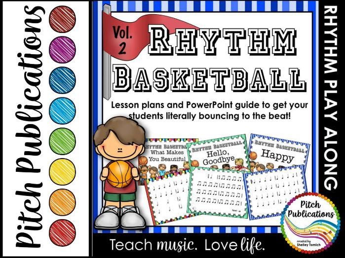 Rhythm Basketball Set - Vol 2! 4/5 Lesson Plan - Rhythm #musiccrewsun