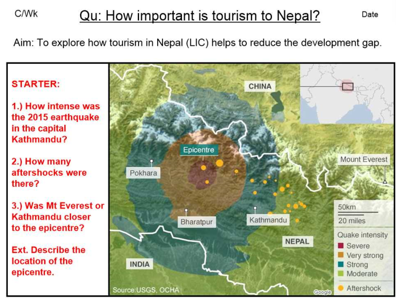 Development - Tourism in Nepal