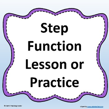 Step Function Lesson or Practice