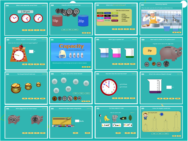 Year 1 Measurement Resource Pack