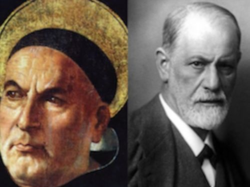 Critically compare and contrast Freud and Aquinas' views on conscience Essay