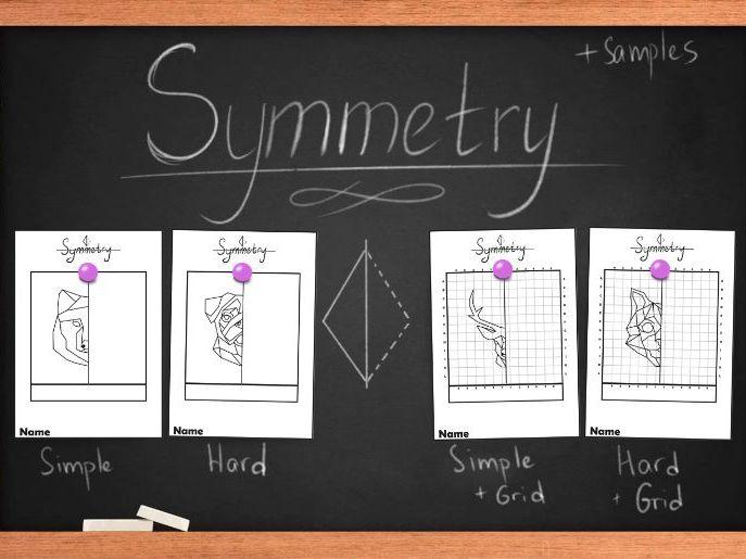 Symmetry worksheets, Line of symmetry. Printable worksheets.