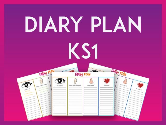 Diary Plan - KS1