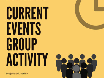 Current Events Group Activity