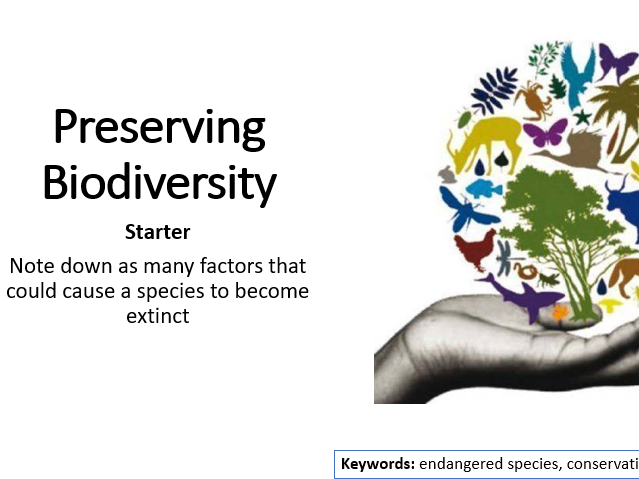 AQA Activate 2 Preserving Biodiversity