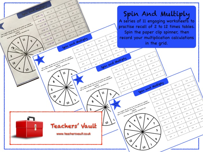 Spin And Multiply Activities