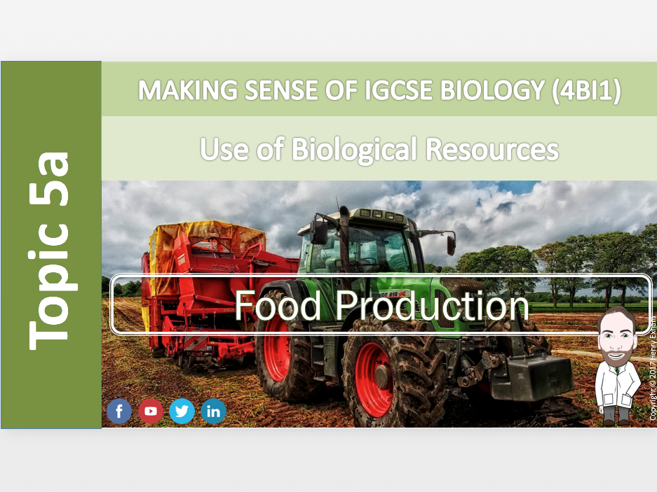 IGCSE Biology 9-1 - 5a Food Production