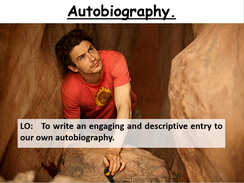 Mini Scheme of Work on Autobiographies and Biographies