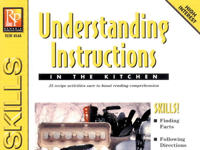 Understanding Instructions: In the Kitchen