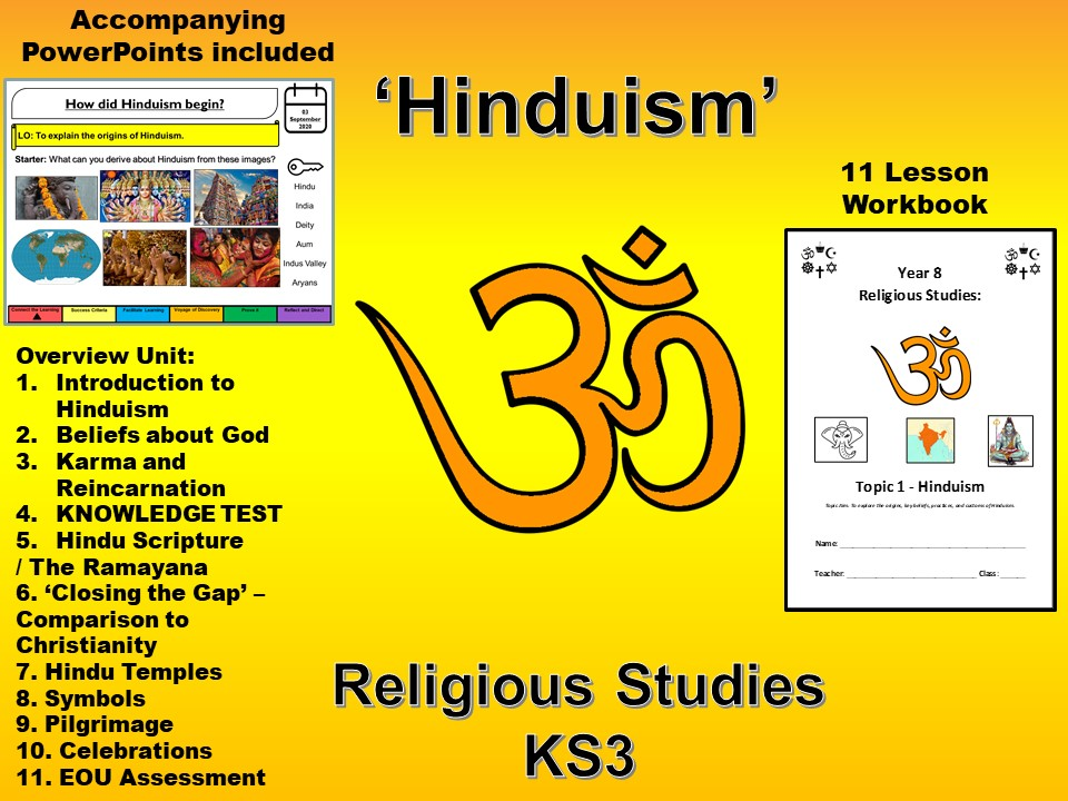 Hinduism SOW PP/Workbook