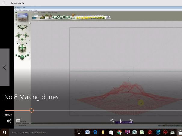 Bryce 3D - Video Tutorials - No 8 - Creating Dunes (The Terrain Editor)