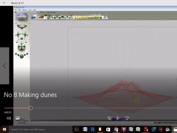 Bryce 3D - Video Tutorials - No 8 - Creating Dunes (The Terrain Editor)