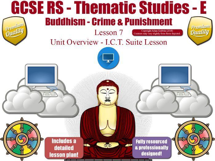L7 - GCSE Buddhism - Forgiveness , Corporal Punishment, Capital Punishment (Crime & Punishment)