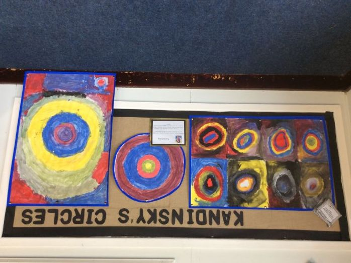 Kandinsky Mini Topic - Squares with Concentric Circles