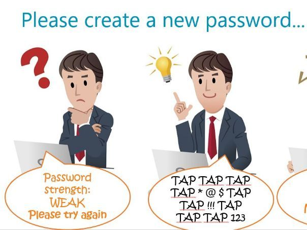 GDPR Take five: PASSWORDS