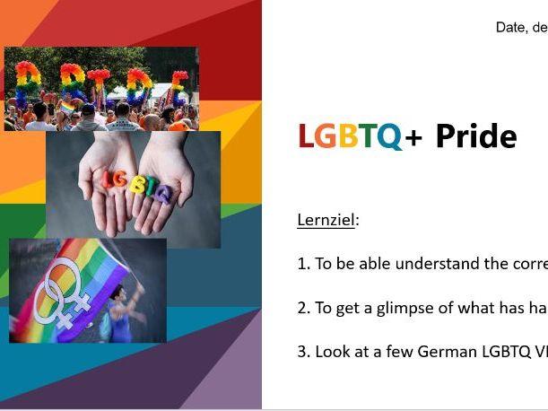 LGBTQ Deutschland/ German KS3/KS4