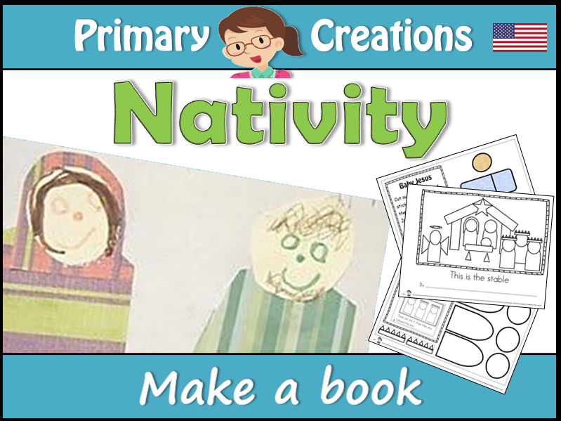 Make a Christmas Nativity Class Book (USA EDITION)