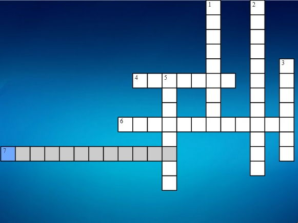 "Crossword puzzle ""plant and animal cells"""