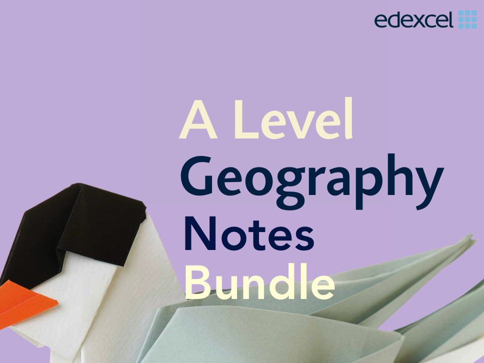 Edexcel AS Level Physical Geography Notes Bundle