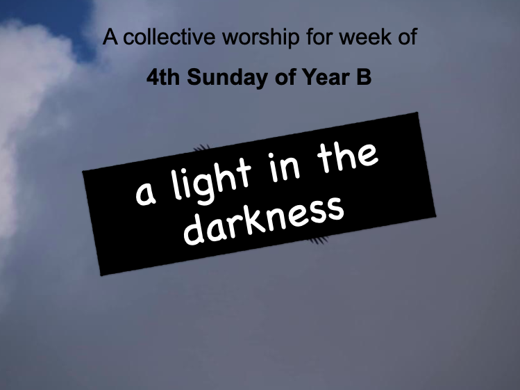 collective worship Catholic 4th Sunday Lent B