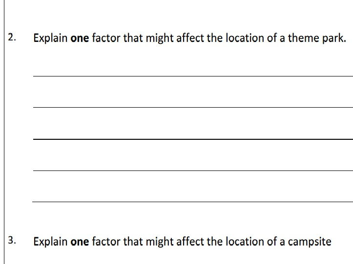 AQA GCSE Business (9-1) 1.5 Location - Assessment