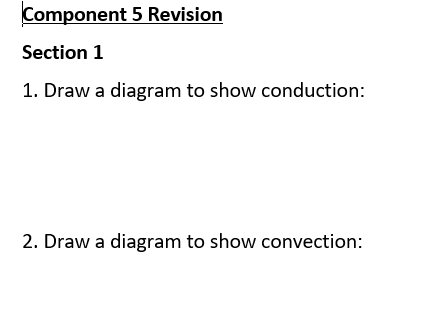 New Spec ELC Science Component 5 Revision